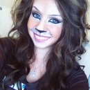 My lion look!