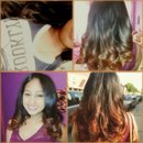 Brown Ombre on my client
