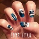 Blue aztèque