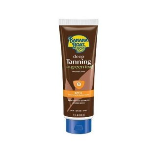 Banana Boat  Deep Tanning SPF 8 Lotion with Green Tea