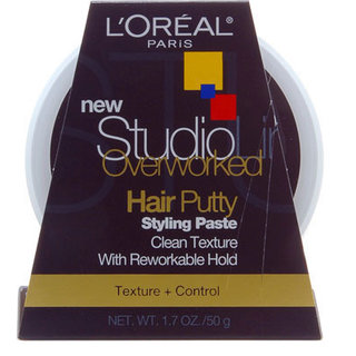 L'Oréal Overworked Hair Putty Styling Paste