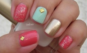 Nail Art - My Favorite Spring Colors - Colores de Primavera