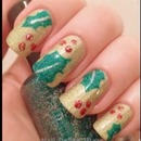 Mistletoe nails!!😘