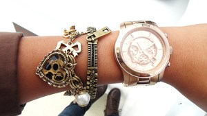 Love these together: Betsey Johnson, Jewelmint, and Michael Kors
