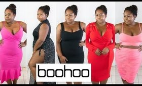 BOOHOO Spring Plus Size Try On Haul