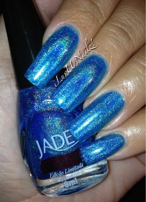The most beautifullest holographic blue ever!