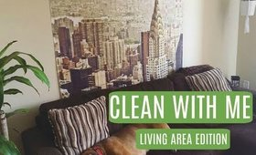 SPEED CLEAN WITH ME | LIVING AREA EDITION 2017 | RACHEAL PRESSEY