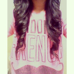 Curled My Hair Today :)