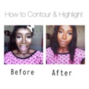 How to Contour & Highlight Your Face ♡