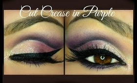 Cut Crease in Purple tones ( horrible english version :D  )