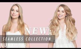 NEW: Seamless Luxy Hair Extensions Collection | Luxy Hair