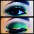 St. Patrick's day look.