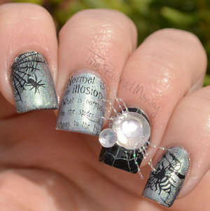 http://www.thepolishedmommy.com/2016/10/the-spider-and-the-fly.html