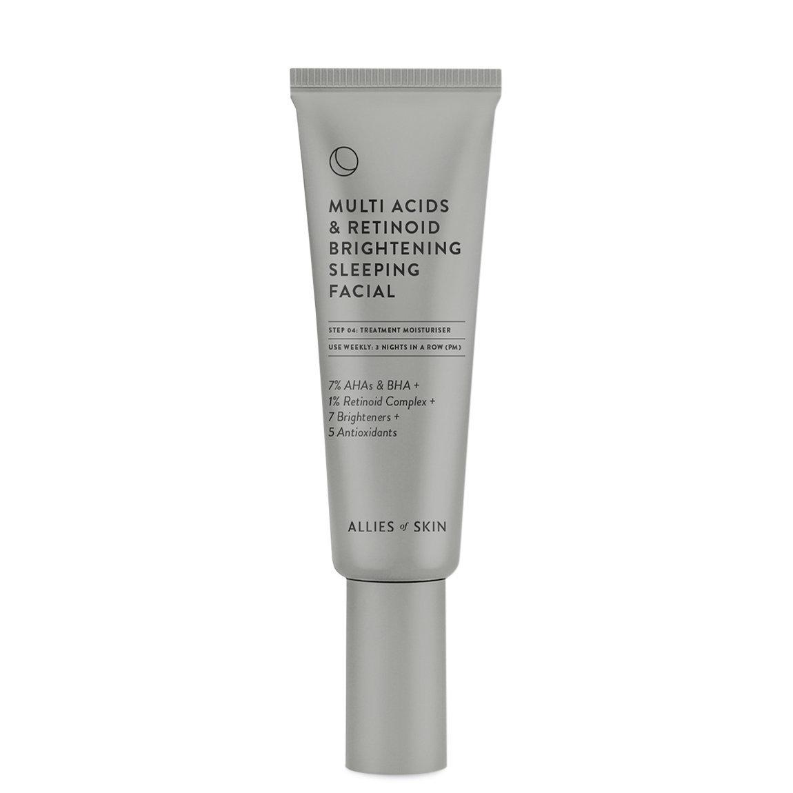 Allies of Skin Multi Acids & Retinoid Brightening Sleeping Facial alternative view 1 - product swatch.