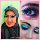 Blue Rhinestone Eyes