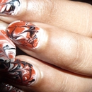 Marble Nail Art Effect Without Water
