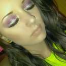 purple, sparkle eye