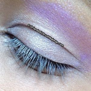 Medusa's Makeup Purple Rain & Ultra Violence (closed eye)