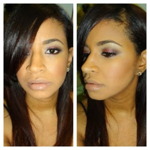 Super easy and sexy smokey eye. Full instructions on my blog www.abeautywithbrains.com
