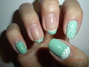 Can't get enough of the mint green for Summer!