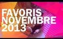 Favoris Beauté Novembre 2013/Miss Coquelicot