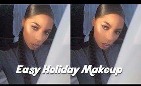 Cute Holiday Makeup Look