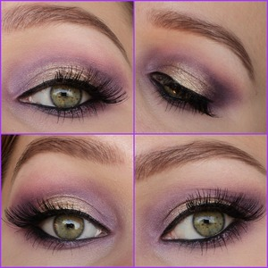 I made this look with the sleek vintage romance palette.  http://instagram.com/makeupbyeline/ Blog: http://www.themakeuphotspot.nl