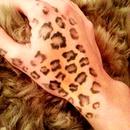 i love my leopard print tattoo!