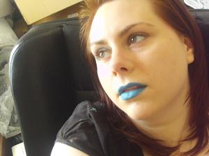 Light Blue lips