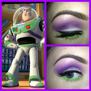 Buzz Lightyear inspired but doesn't really look like Buzz Lightyear? Ah well! This looked way better in person!