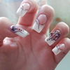 French Flower Nails