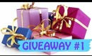 Giveaway #1!!!  Heather Belle Polished Brass Niki Cuff & Jewelmint Wristlet
