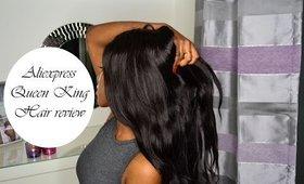 Aliexpress Queen King hair review