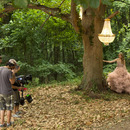 Behind the Scenes at Taylor's Wonderstruck commercial shoot!