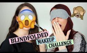 BLINDFOLDED MAKEUP CHALLENGE ft. MY MOM