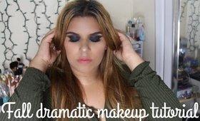 Fall Dramatic Makeup Tutorial-SCARLESCORNER