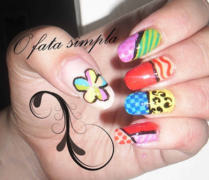 More manicures on my blog -> http://o-fata-simpla.blogspot.ro/2013/06/challenge-21-inspired-by-art.html