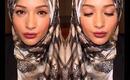 My Quick Everyday Makeup / Hijab Tutorial Feat. Hijab-ista.com **Talk Thru**
