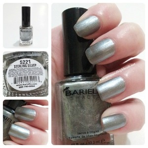 Full collection & Swatches up on the blog http://www.hairsprayandhighheels.net/2013/02/barielle-diamonds-are-forever-swatches.html