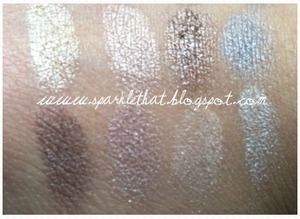 Urban Decay Book of Shadows IV - bottom half swatches  http://sparklethat.blogspot.com/2011/12/urban-decay-book-of-shadows-iv-swatches.html