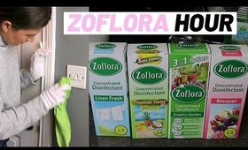 ZOFLORA HOUR CLEAN WITH ME MOTIVATION UK 2020 WITH MUSIC