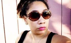 STYLE & FASHION: Classy & Sassy - Stefania Baroque Sunglasses SHOPLATELY Haul & Review