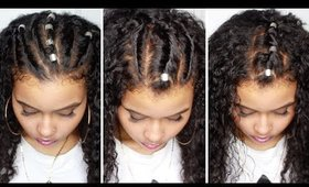 PRETTY PROTECTIVE HAIR STYLES FOR PEOPLE WHO CAN'T BRAID