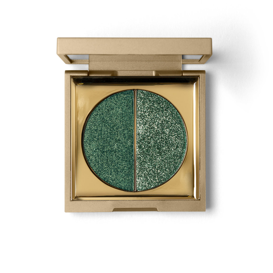 Stila Vivid & Vibrant Eye Shadow Duo Jade product smear.