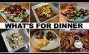 WHAT'S FOR DINNER | 7 DINNER IDEAS | KID FRIENDLY, QUICK, & EASY