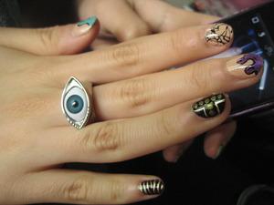 did my friend's nails!