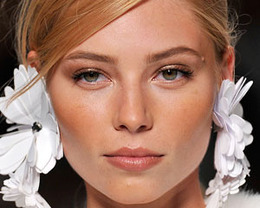 Blumarine Makeup, Milan Fashion Week S/S 2012