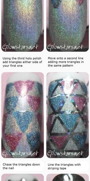 Vic Glowstars P Glowstars Glowstars Nail Art 101 Gallery