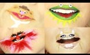 Crazy Muppet Lip Art by Kandee Johnson