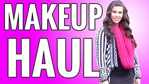 NEW video up on my channel!! Check out my first Makeup Haul!!! https://www.youtube.com/watch?v=cza0UxS-9X8